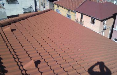 Основен ремонт на четири скатен покрив
