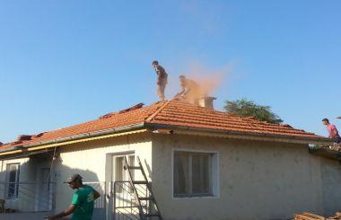 Напълно реновиран покрив